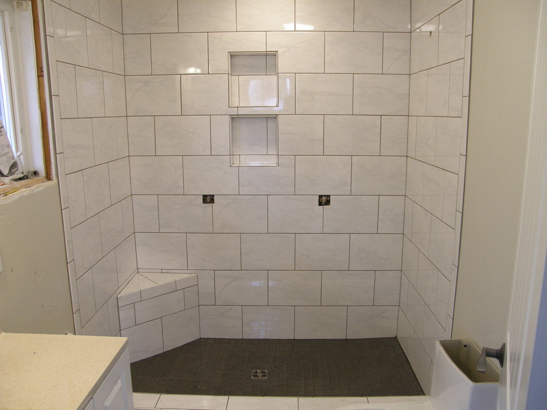 Showers and Tub Surrounds - Pullman Tile Guy LLC
